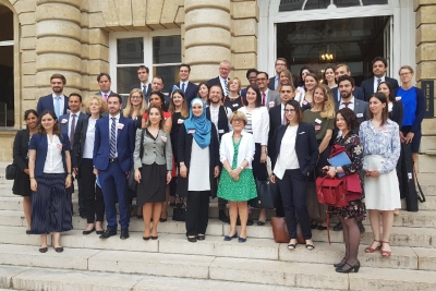 4TH TURKEY-EUROPE FUTURE FORUM TRAINING PROGRAM WAS ORGANISED IN PARIS AND BERLIN