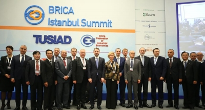BRICA SUMMIT GATHERED COUNTRIES LOCATED ON THE SILK ROAD IN ISTANBUL